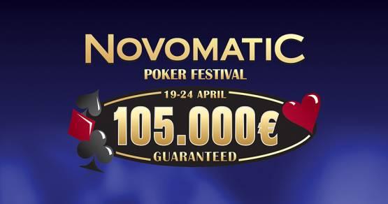 NOVOMATIC POKER FEST 105.000€