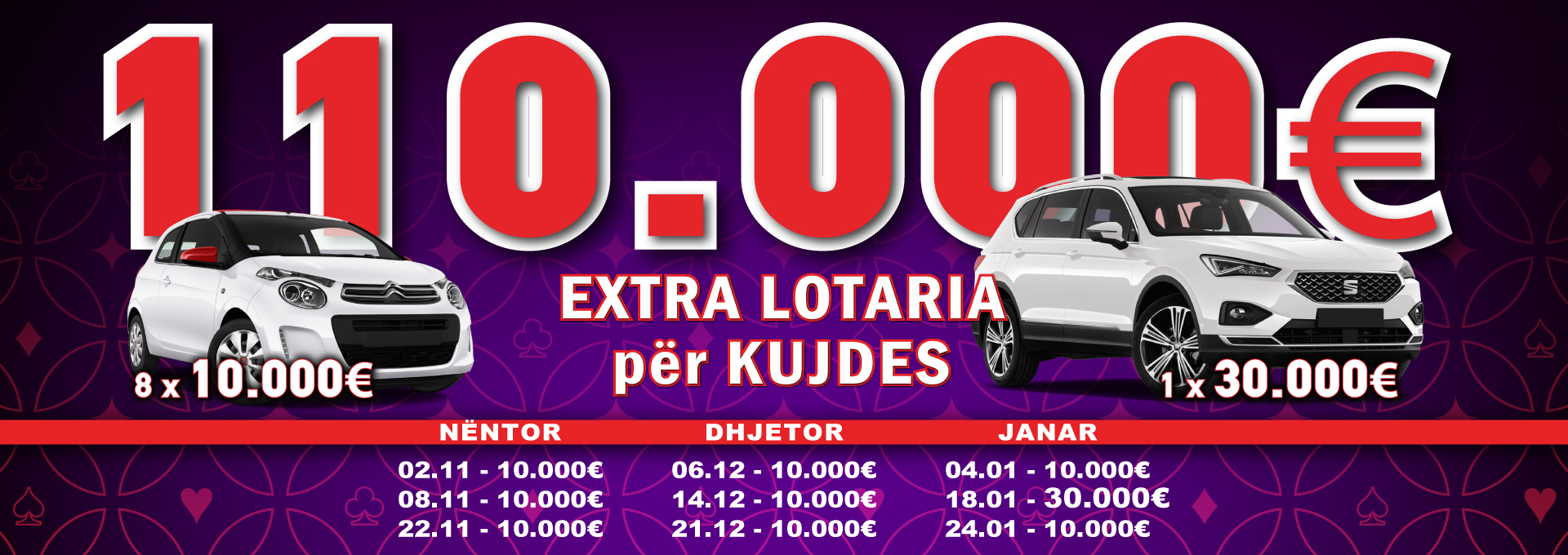 Extra Lotteries November