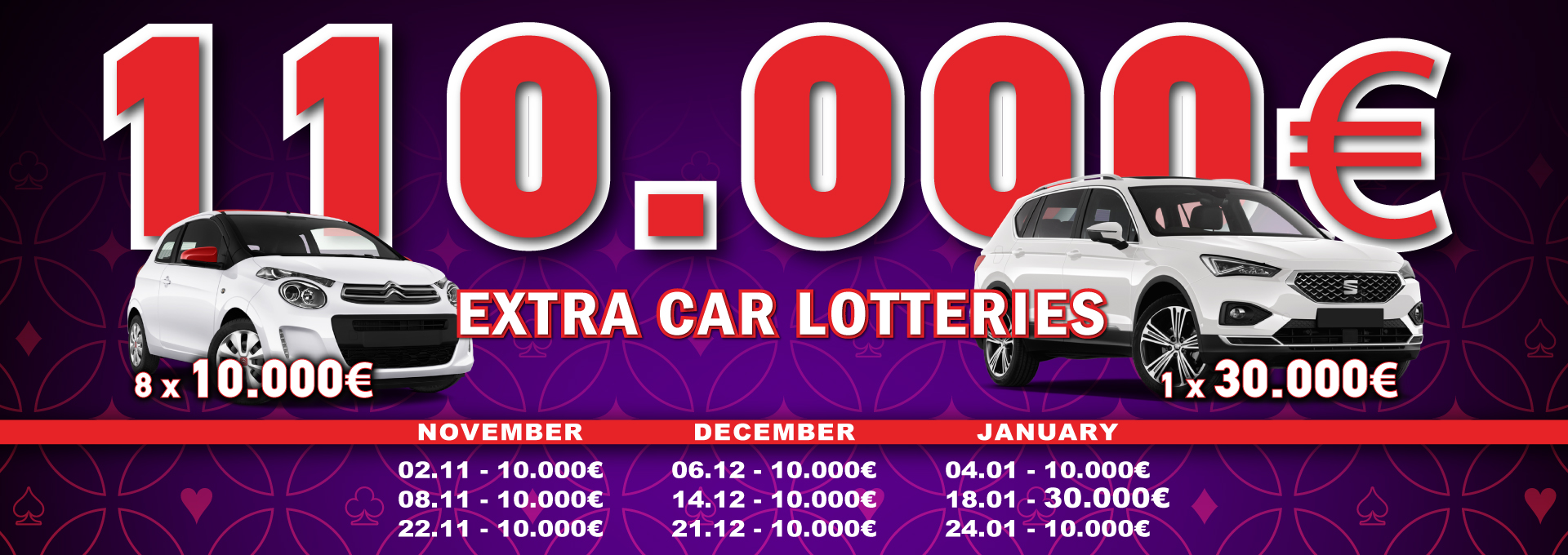 Extra Lotteries November